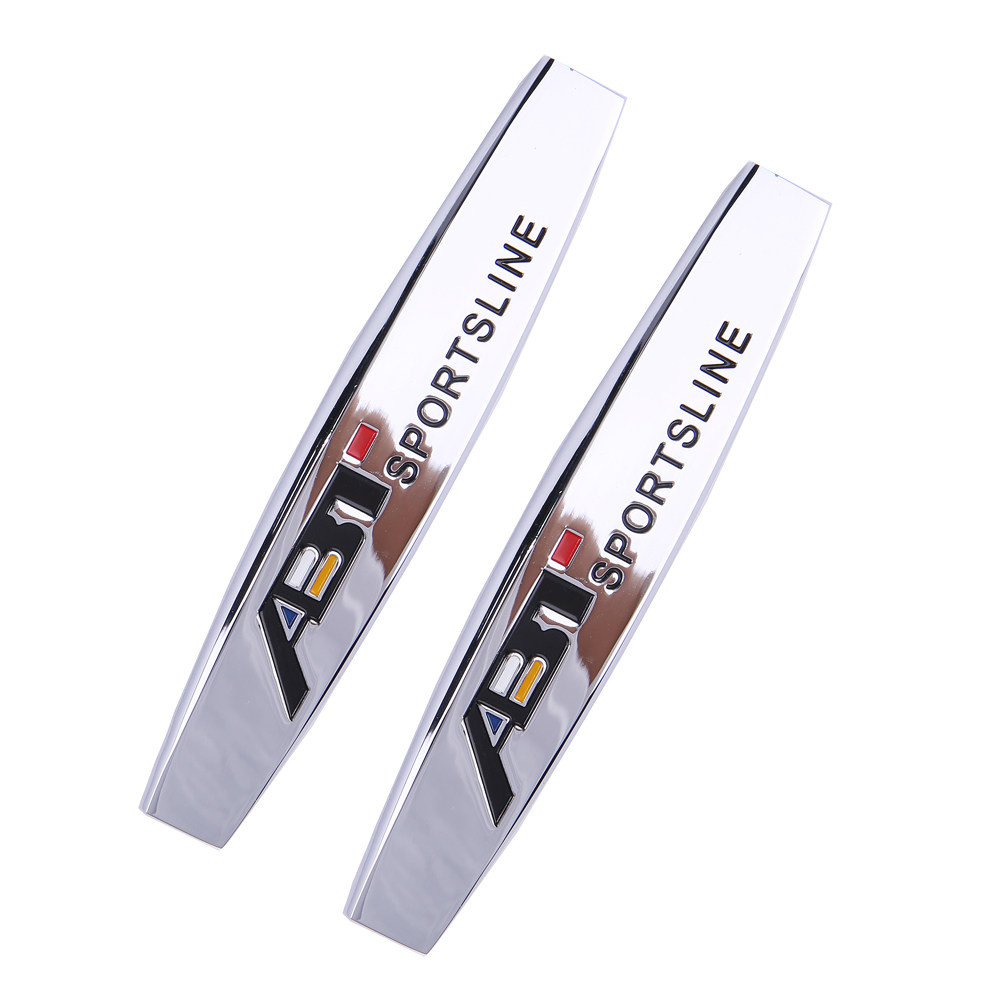 Renntech Emblem Badges Metal Alloy Stickers Logos Top Quality Fast Free Shipping