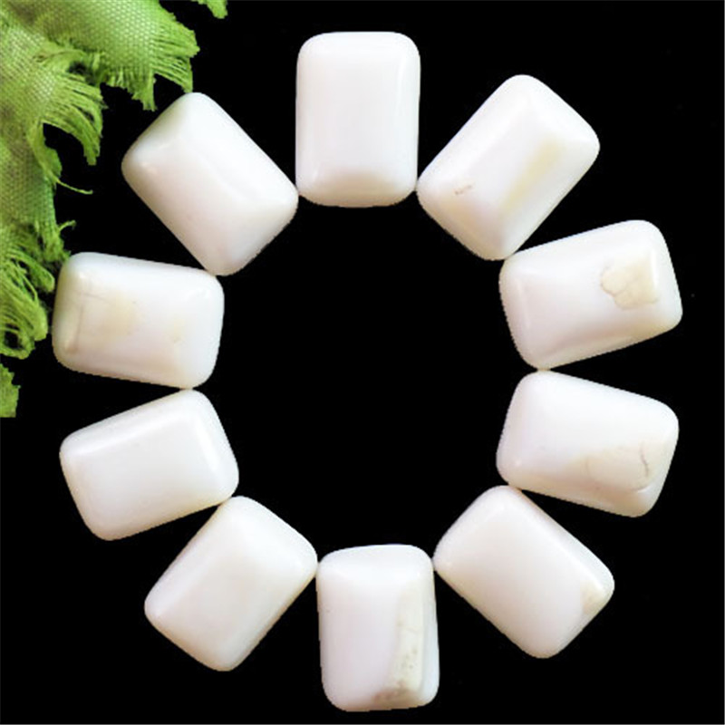 (12 pieces/lot) Wholesale Natural White Marble Oblong CAB Cabochon 18X12X5mm Free Shipping Fashion Jewelry J126