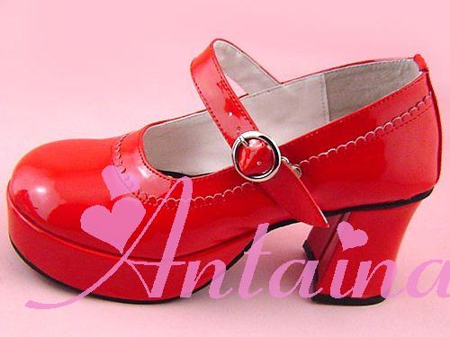Princess sweet lolita shose Lolilloliyoyo antaina custom lolita cos punk laciness brief princess shoes 9040 - 3 high platform