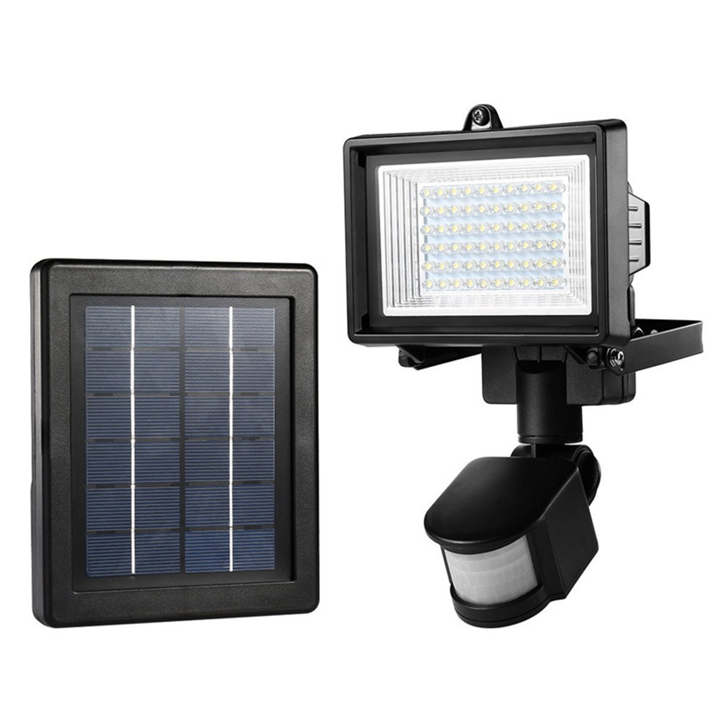 60 Leds Solar Motion Sensor Light Security Emergency Lamp Waterproof Outdoor Floodlights Spotlight Wall mounted Patio,Yard,Fence updated version 16 leds solar light 4pcs motion sensor wall lamp waterproof outdoor garden yard path fence emergency lightings