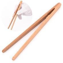 18 см Бамбуковые пинцеты деревянные цветные чайные зажимы текстурированные бамбуковые пинцеты для чайной посуды Kongfu