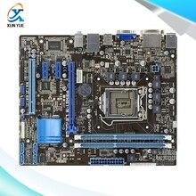 For Asus P8H61-M LE/USB3 Original Used Desktop Motherboard For Intel H61 Socket LGA 1155 For i3 i5 i7 DDR3 16G uATX On Sale