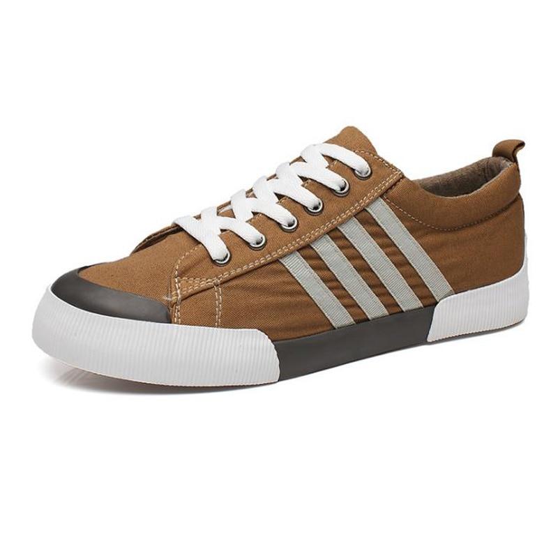 2018 NOVI stil Muške platnene cipele Ravne tenisice Tenisice - Muške cipele - Foto 6