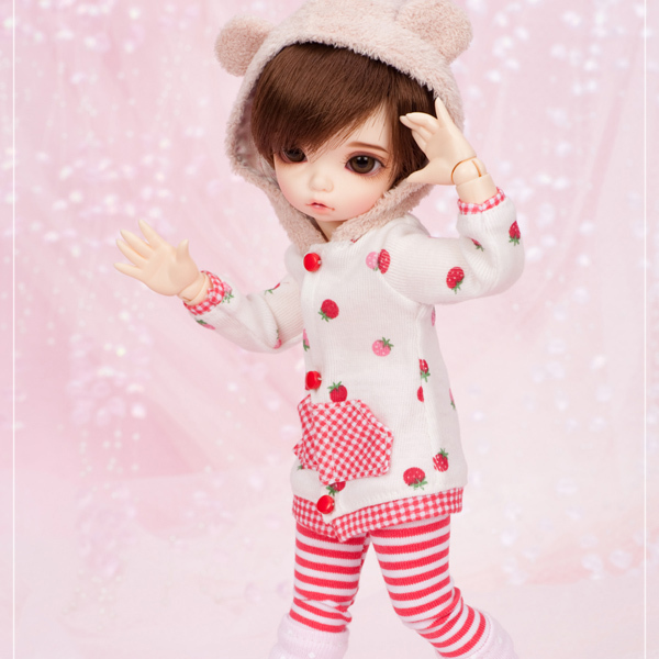 stenzhornBjd doll sd doll 1/6 male doll fairyland Bisou (Boy) joint doll high quality toys free eyes can choose color 3