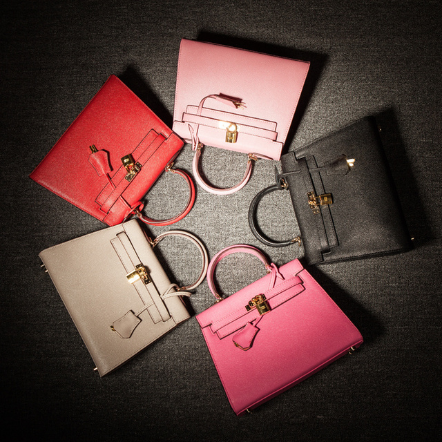 Hot sale Hongkong tide brand HOUSE OF HELLO Palm prints ladies bag Leather  handbags 20 25 inch 6ee319e6cb7a3