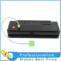 220V 110V Automatic Small Commercial Vacuum Packaging Machine Household Food Bag Vacuum Sealer Tea Laminator Free