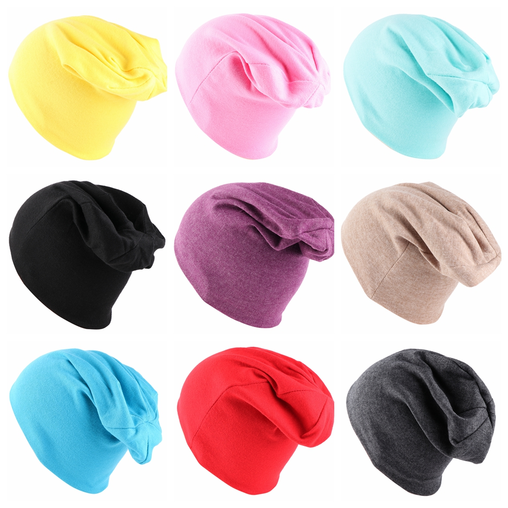 291edb4194e Detail Feedback Questions about Multicolor Cotton Soft Boy Girl Kids  Slouchy Beanies Hat Warm Winter Cute Outdoor Skullies Caps Wide Turban For  1 5 Years ...