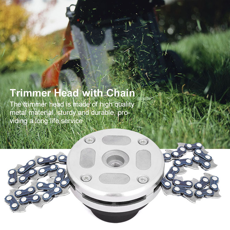 Garden Lawn Grass Trimmer Head Brushcutter Coil 65 Mn Manganese Chain Mower Part Accessory la78141