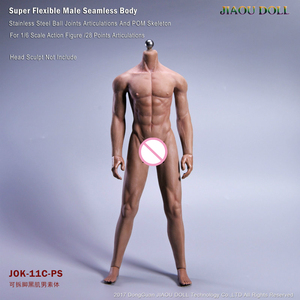 Image 2 - Super Flexible Male Seamless Body Figure 1/6 Scale With Stainless Steel Ball Joints Strong Musle Figure Model Collection Toy