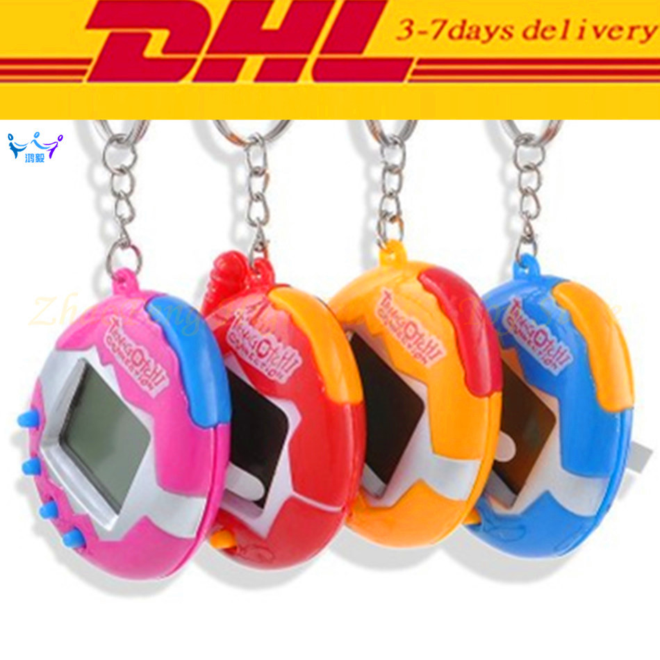 288pcs dhl tamagotchi electronic pets toys 90s nostalgic game machine virtual cyber pet funny tamagochi kids