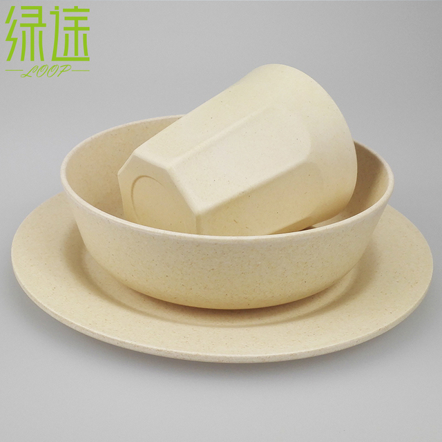 2016 New White Fine China Bamboo Fiber Tableware Dinner Plates Cup Bowl Eco Friendly Dinnerware Set & Eco Friendly Dinnerware Set u0026 VVVFF Set Ocean Fleet Baby Bamboo ...
