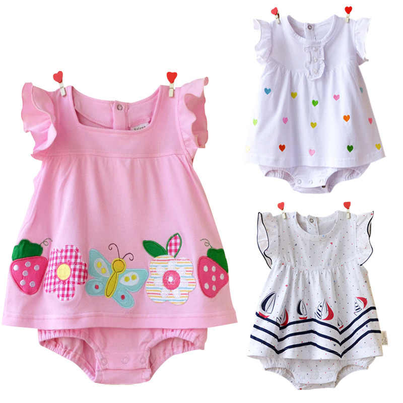 471c57ace Detail Feedback Questions about Summer Baby Girl Clothes Rompers ...