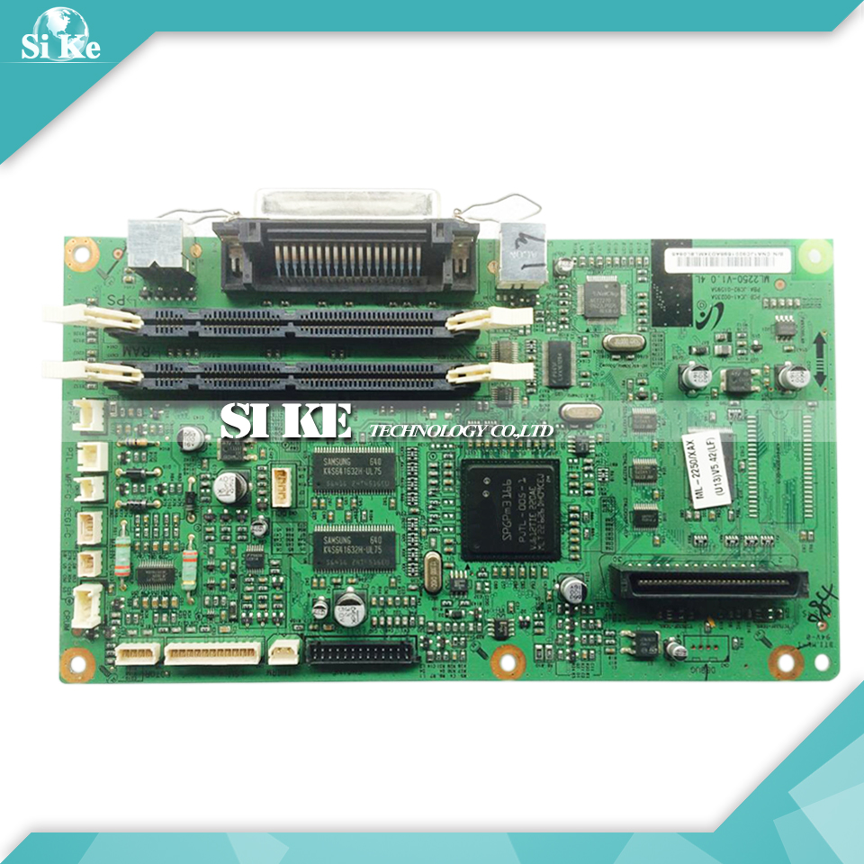 Free shipping 100% tested formatter board /main board for Samsung ML2250 SF--2250SC 2550 on sale free shipping main board for brother mfc 240c mfc 240 mfc 240c 240 formatter board mainboard on sale