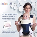Bebear novo hipseat para evitar o-tipo com as pernas apoiadas pad cabeça poupar esforço ergonômico baby carriers manduca mochilas miúdo estilingue