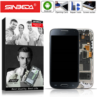 4.3Super AMOLED For SAMSUNG Galaxy S4 Mini LCD Touch Screen Display Digitizer Assembly For S4 mini I9190 i9192 i9195 Mobile LCD