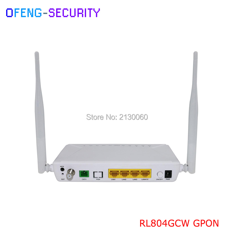 Similar HUA WEI  ZTE ONU For Customized GPON ONU 1GE+3FE+WIFI+CATV+WDM, Single Fiber
