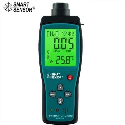 AR8600 Digital Handheld Indoor Air Quality Monitor Analyzer Formaldehyde Gas Detector Tester Meter