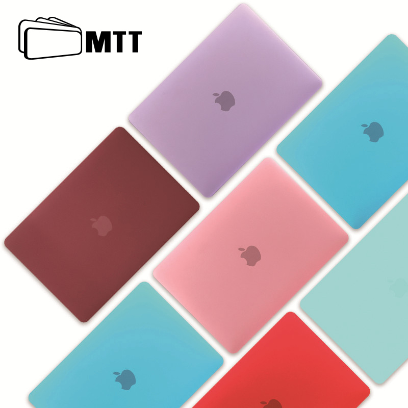 MTT Crystal/Matte Hard Case For Macbook Air Pro Retina 11 12 13 15 Shell Cover for Apple mac book Air 13.3 inch Laptop Sleeve