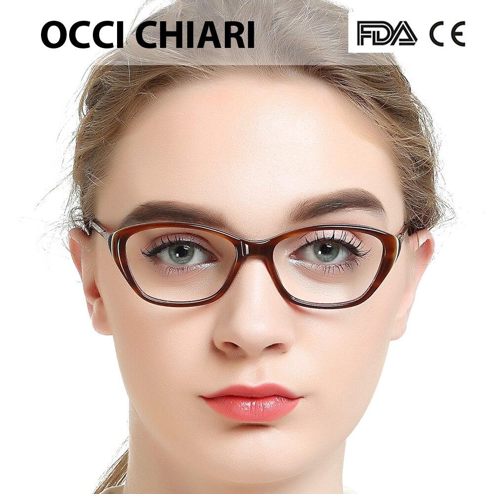 a4d57604885e Товар OCCI CHIARI Acetate Prescription Clear Computer Glasses Frame ...