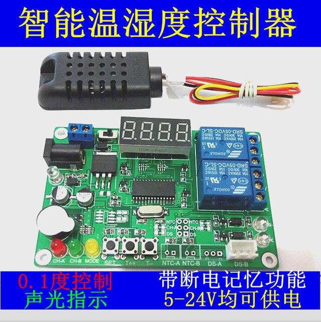 Культура инкубации Высокая точность цифровой дисплей интеллектуальный контроллер температуры и влажности Термостат контроля Влажности па