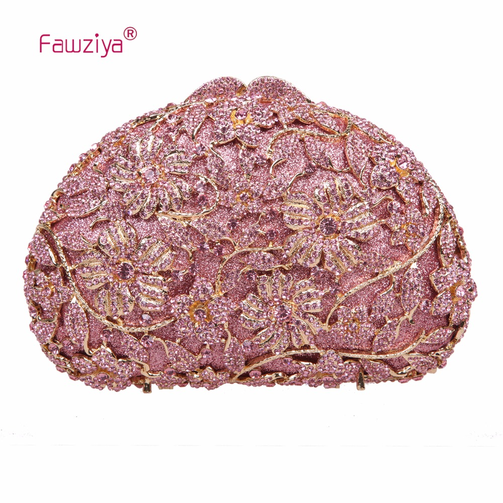 Fawziya Flower Clutch Purse In A Purses And Clutches And Evening Bags