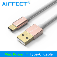 AIFFECT High Quality Type C Cable Aluminum USB-C to USB Cable High-Speed Typc-C Cable to USB  Data Charging Cable Cord Line  high speed cable