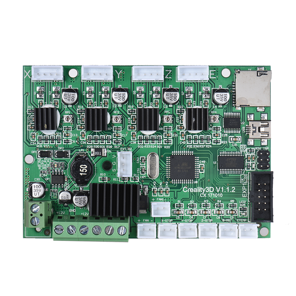 где купить Motherboard Controller Board Mainboard for Creality CR-10/ 10Mini CR-10S/ S4/ S5 3D Printer Self Assembly DIY Kit USB Port по лучшей цене