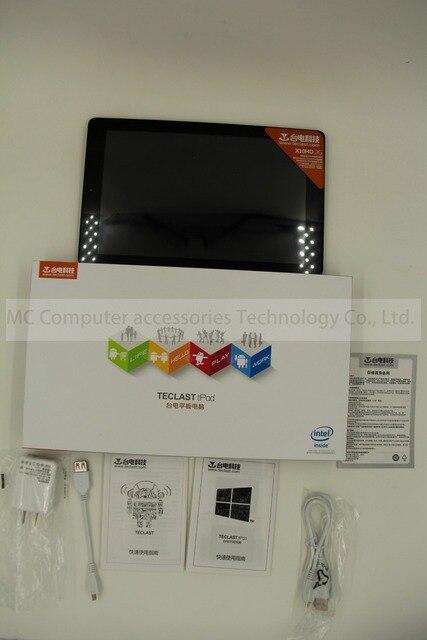 Newest10.1 Inch Teclast X10HD 3 Gam Hệ Thống Kép Z3736F 2.16 GHz Tablet PC Android4.4 + Windows8.1 2560x1600 Air Retina 2 GB DDR3L 64 GB