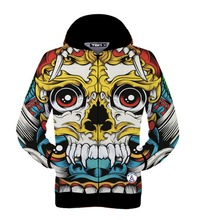 Mr.1991INC Hot sell men/women 3d jacket zipper hoody print big red eyes skull hip hop hooded hoodies 3d sweatshirts autumn tops