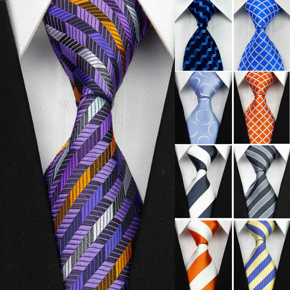 Beautiful New Fashion Accessories Necktie High Quality 8cm Mens Ties For Suit Business Wedding Casual Navy Black Red Pink Silver Blue Tie Men's Ties & Handkerchiefs