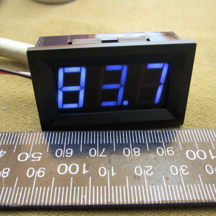 Digital Panel Meter 9v 3 5 : Pc mini digital voltmeters v led panel