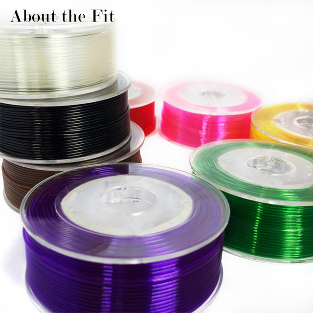 About the Fit 1mm 20M Crystal Elastic Threads Stretch Cords DIY Jewelry Accessories Beading String HandCrafts Findings Lacing 2
