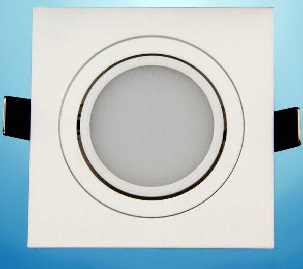 Бесплатная доставка 7 Вт затемнения площади утопила Подпушка свет теплый белый холодный белый для фойе столовой Кухня AC85-265V