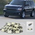 Envío Libre!! #35 10x Blanco Kit de Luces LED Paquete Interior Para Chevy Tahoe 2007-2013