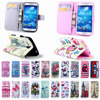 Elephants Paris Tower Leather Stand Wallet Card Holder Flip Cover for Samsung Galaxy S4 I9500 Protector Case for samsung s4 Capa