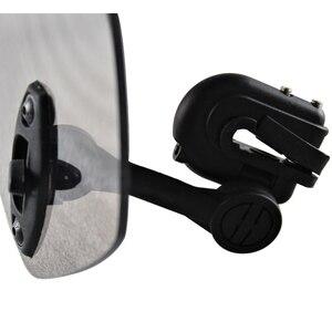 Image 4 - ユニバーサルオートバイフロントガラス延長スポイラーエア風偏向器モトライザーウインドスクリーン BMW ホンダスクーター Accesssory