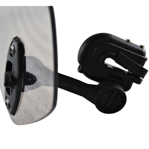 Image 4 - Universal Motorcycle Windshield Extension Spoiler Air Wind Deflector Moto Riser Windscreen For BMW Honda Scooter Accesssory