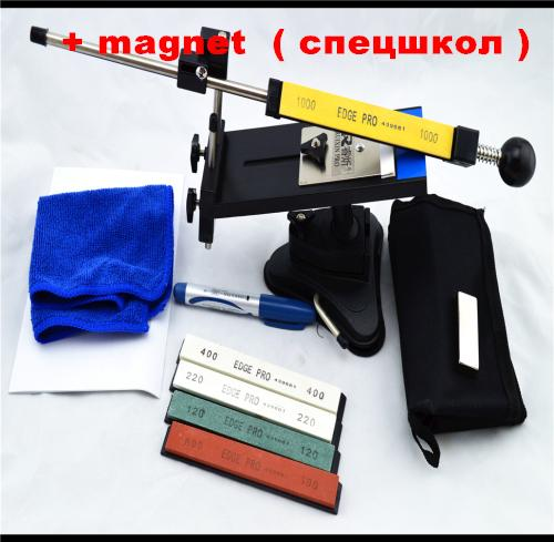 Ruixin 2nd vesion knives Apex edge sharpener system Kitchen knives sharpener 5 edge whetstone +magnet