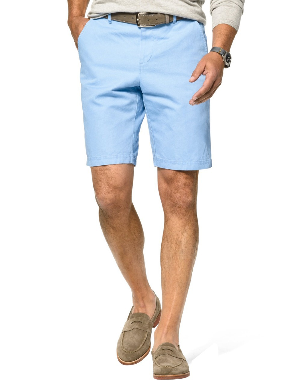 Men's Light Blue Trousers New 2015 Men Summer Swimmer Short Brand ...