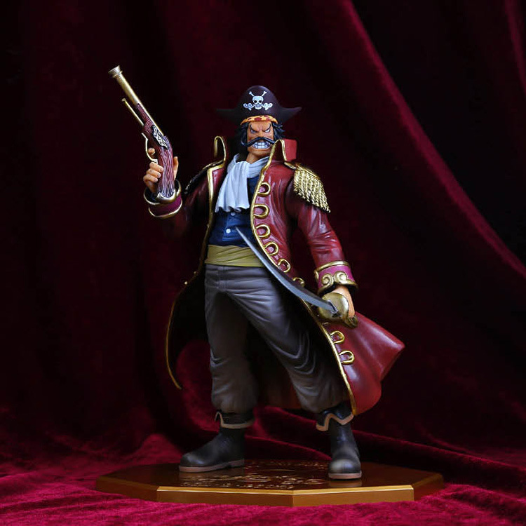 One Piece the Pirate King Gol D Roger Gold Roger POP P.O.P PVC Action Figure 10th Anniversary Collection Model Toy B584 free shipping high quality michael jackson the king of pop pvc action figure collection toy 1230cm otfg007