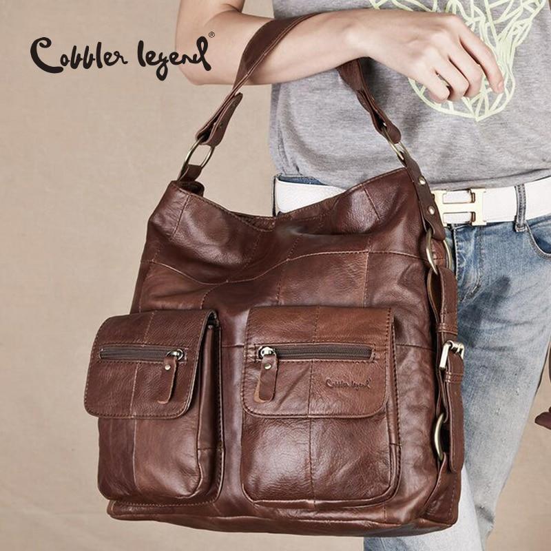 Cobbler Legend 2017 Female Genuine Leather Bag Large Women Leather ...