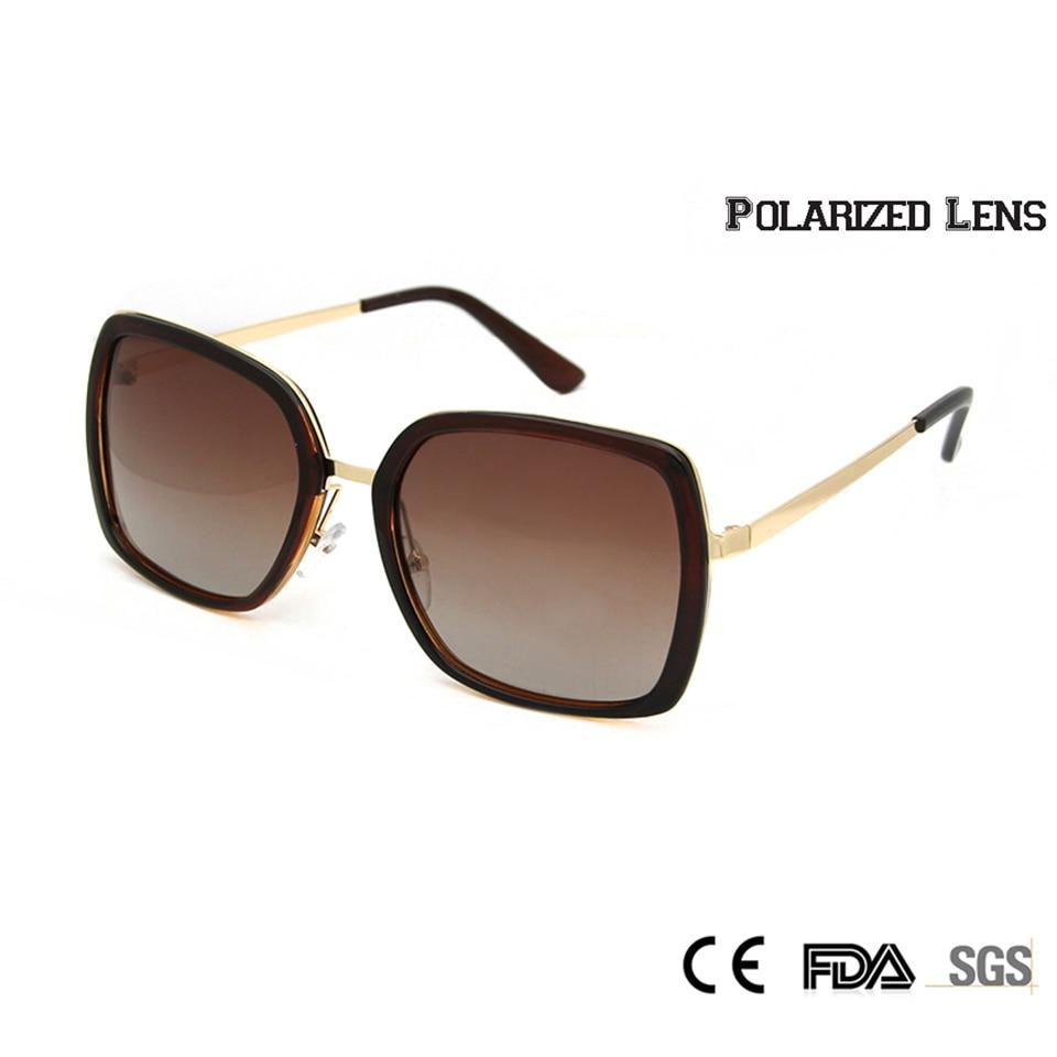 TR90 Memória Sorbern Tamanho Grande Óculos Polarizados Óculos de Sol  Mulheres Marca de Designer de Moda Praça de Grandes Dimensões Óculos Gafas  de sol ... f2913c9844