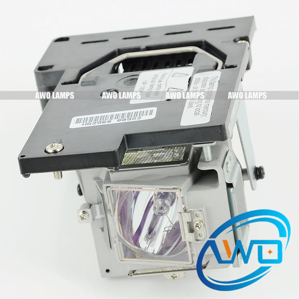 AWO Original Projector Lamp 5811100760 5811100760-SU with Housing P-VIP150-180W for VIVITEK D825MX D820MS with housing lamp poa lmp94 610 323 5998 bulb for projector sanyo plv z4 plv z5 plv z5bk projectors