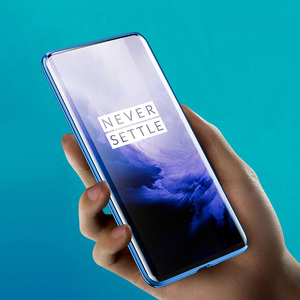 Image 3 - Manderm جراب هاتف ل OnePlus 7 برو OnePlus7 360 درجة كامل الجسم حماية المغناطيسي عودة الجبهة الزجاج المقسى حالة
