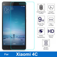 GULYNN New design Original for 9H 2.5D Explosion-proof for xiaomi 5 6 redmi note 3 4 4X 5A redmi 3 4 pro 4A 4X Protector Film(China)