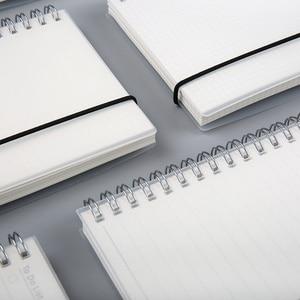 Спиральная книжка A5 A6 в виде катушки, записная книжка в горошек, пустая сетка, дневник, альбом для школы, канцелярские принадлежности, магазин