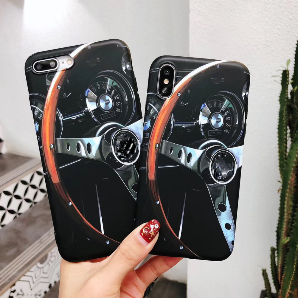 New  Motorsport  AMG  Tire Soft silicon cover case for iphone 6 6S S plus 7 7plus 8 8plus X 10 XS XR Max AMG Luxury phone cases
