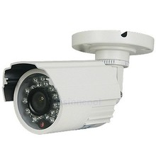 AHD 720P 1.0MP CMOS CCTV Camera System for Outdoor Security White Color