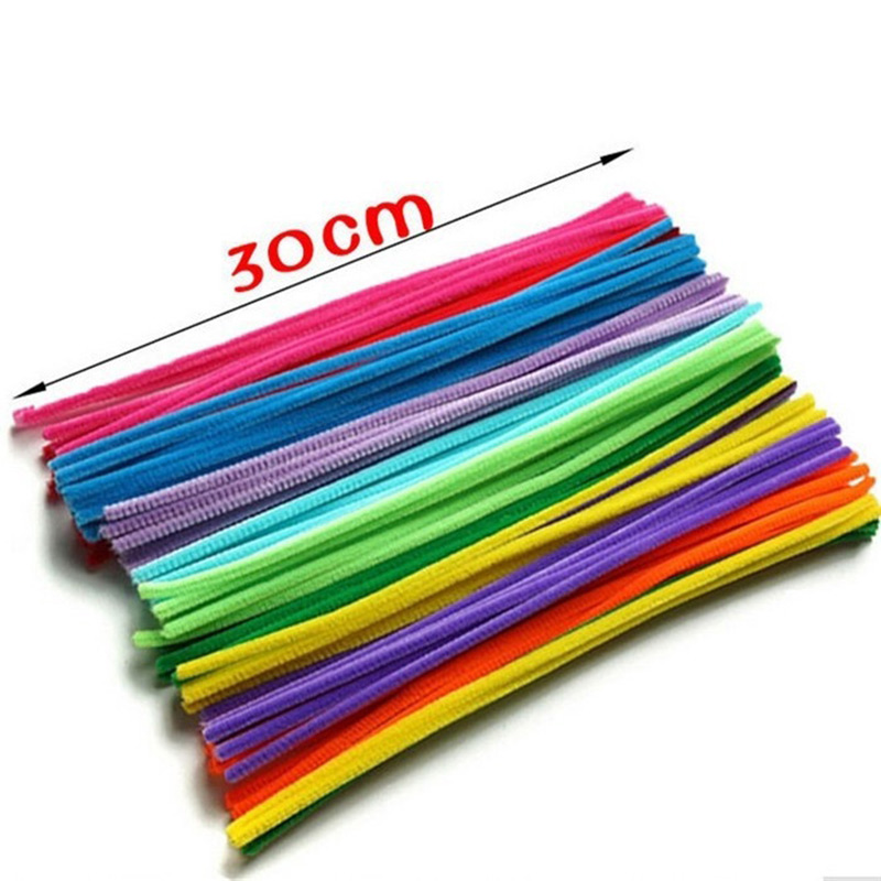 100PCS-Kids-Child-Plush-Sticks-Rainbow-Colors-DIY-Materials-Education-Handmade-Art-Craft-Toy-Creativity-Devoloping-Toys-Z310-5
