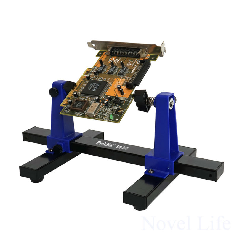 SN-390 Adjustable Printed Circuit Board Holder Frame PCB Soldering and Assembly Stand Clamp Fixture Jig Tool 360 Degree Rotation professtional printed circuit board assembly electronic pcb assembly service pcba manufacturer pcba